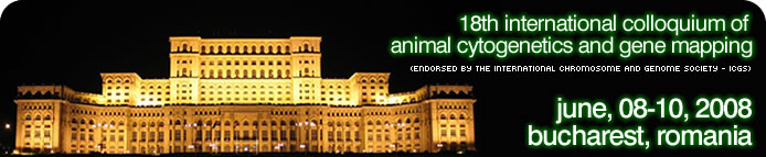 18th International Colloquim of Animal Cytogenetics and Gene Mapping 2008